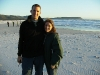 Ben and Meghan on Monkey Valley Beach