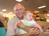 Andy and Grandpa at Chuck E. Cheese's