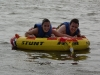 Ryan and Lauren on the tube
