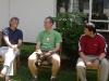 John, Ben and Steve visiting