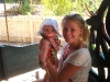 Heidi and Grace at the zoo