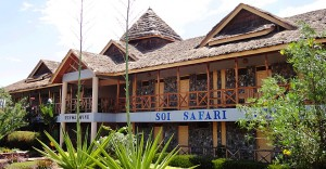 The Soi Safari Lodge Hotel at Lake Baringo
