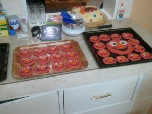 Elmo Cookies!