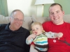 Grandpa, Andy and Daddy
