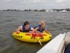 Ryan and Aunt Debbie on the tube