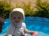 Andy in the pool