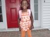 Eden's first day of school