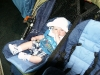 Andy in the stroller
