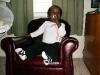 Eden in her chair